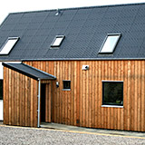 A recent example of our wood in use on an R-House project